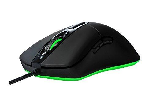 giyach Ergonomische Optische Gaming Maus Leicht mit 16,8Millionen Farben Chroma RGB LED-Hintergrundbeleuchtung, 6programmierbare Button, 1ms Bericht Time, 4800dpi für MOBA (, FPS Gaming
