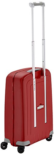 Samsonite S'cure Spinner Valigia Unisex,, Blu (PACIFIC BLUE), S (55cm-34L) Rosso (CRIMSON RED)