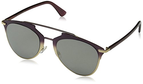 Dior Damen DIORREFLECTED UE TYJ Sonnenbrille, Violett (Violet Ivory Grey Speckled), 52