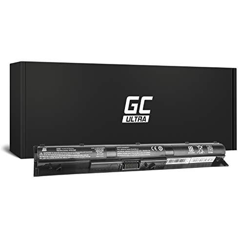 GC® Ultra Serie Laptop Akku für HP Pavilion 17-G050UR 17-G051NA 17-G051UR 17-G052NF 17-G052NG (Original Panasonic Zellen 3400mAh 14.8V Schwarz)