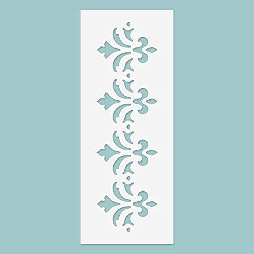 Zita's Creative 3D Schablone - Bordüre Nr. 03 Schablon, Stencil