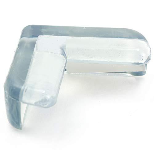 Anladia Silikon Tisch Eckenschutz Kantenschutz Eckschutz Glastisch Kindersicherung Kinder Baby Schutz Sicherungspuffer Stoßschutz