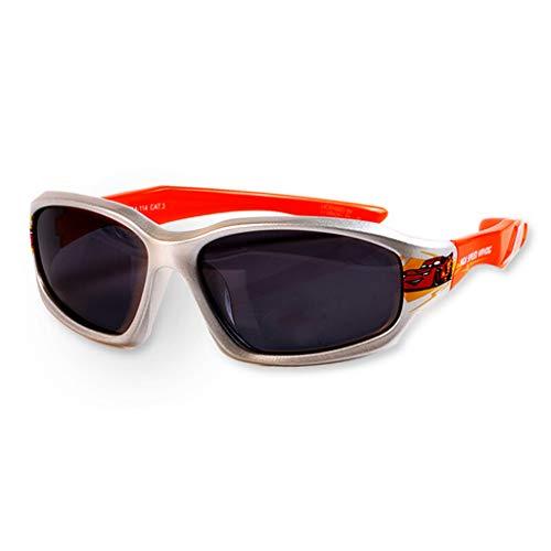 AHUAA Kinder Sonnenbrille Polarisierte Brille Im Freien UV-Schutz Speicher Gebogene Tempel Junge Auto Hellblau (Color : A)