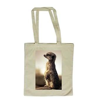 Meerkat - Long Handled Shopping Bag