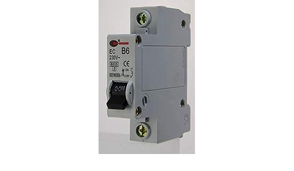 CGD EC-1B06-6a Type B Single Pole MCB