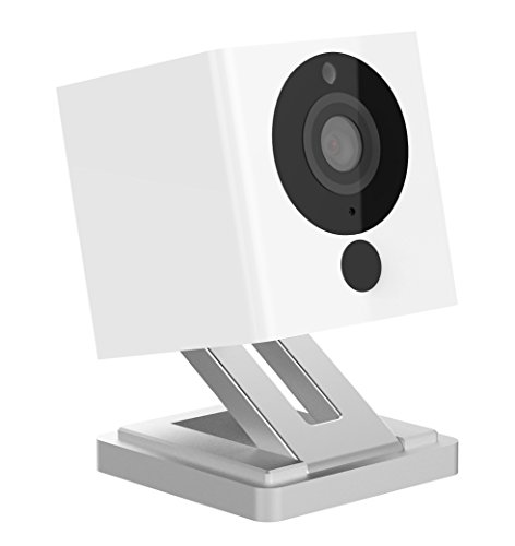 iSmartAlarm Spot+ Videocamera di Sicurezza Wi-Fi HD, Confezione da 1 Pezzo, Bianco