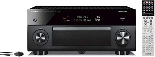 Yamaha RX-A3070 Schwarz - 9.2 AV-Receiver (230 Watt, Bluetooth, dtsX, DAB+, Zone 4, Dolby Atmos) - Aventage Yamaha