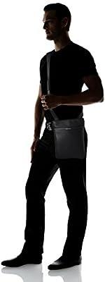 Calvin Klein Jeans Men's Elias Flat Crossover Bag, Black, 3 x28 x24 cm (B x H x T)