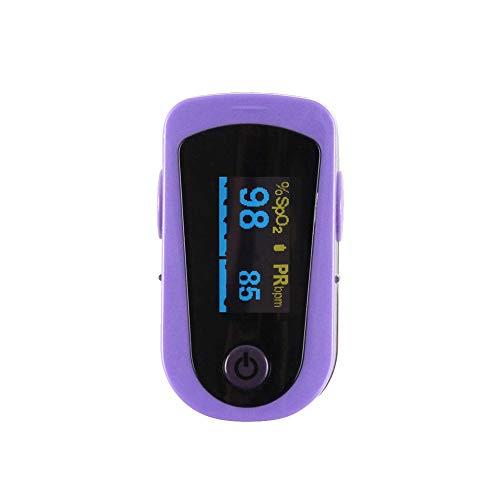 CHENG Oximeters Finger Blood mit LED-Anzeige Automatische Überwachung der Sauerstoffsättigung für Kinder und Erwachsene