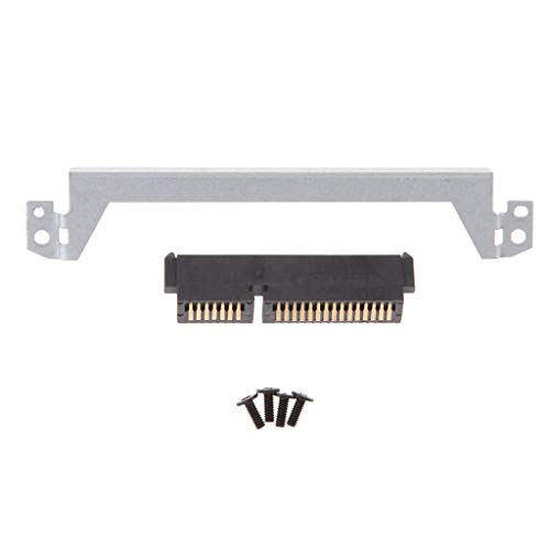H HILABEE Para DELL Latitude E5440 HDD Hard Driver Caddy Bracket + HDD  Connector