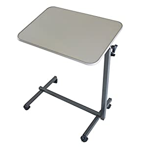 Multi Purpose Over Bed Table Foldable Height Adjustable Portable Mobility Aid