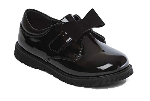 Chatterbox Girls Mary Jane/T Bar Black School Shoes Size 4 5 6 7 8 9 10 11 12 Infants