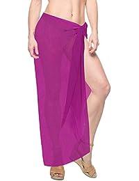 e301b091ce Amazon.co.uk: Pink - Cover-Ups & Sarongs / Swimwear: Clothing