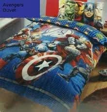 parure housse de couette linge de lit enfant garcon marvel avengers assemble 52 polyester 48. Black Bedroom Furniture Sets. Home Design Ideas
