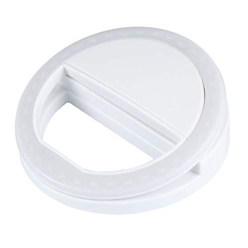 Portable Universal Handy Selfie Licht Clip-On Design Leuchtende Lampe LED-Blitzlicht-Telefon-Ring für iPhone für Samsung