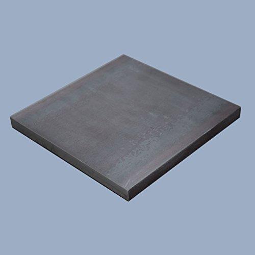 Flachstahl 250 x 250 x 10 mm Flacheisen Stahl Eisen S235JR ST37