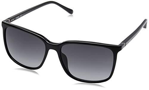Fossil Herren Fos 3081/S Sonnenbrille, Mehrfarbig (Black), 57