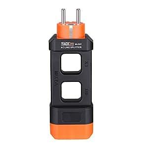 Il divisore di corrente AC, Tacklife MLS01 MAX 15A per multimetro pinza e misuratore di amperometri, misura a dieci pin ingrandita, tesoro per corrente minina