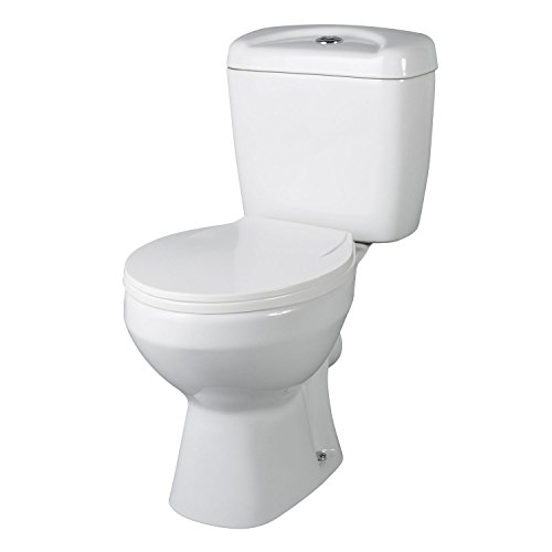 Premier NCS150 Melbourne Pan/Cistern and Seat - White