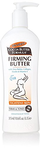 Palmers Cocoa Butter Firming Butter with Shea Butter, Collagen, Elastin & Vitamin-E 250ml, 10.6