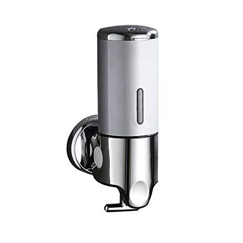 Seifenspender, Wand-Chrom Hand Manuelle Flüssigseife 500ml Bad Küche Dusche - Chrom Wand-seifenspender