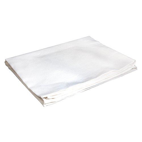 RAYHER Tischdecke, Baumwolle, Weiß, 2.85 x 2.04 x 0.15 cm, 4-Einheiten