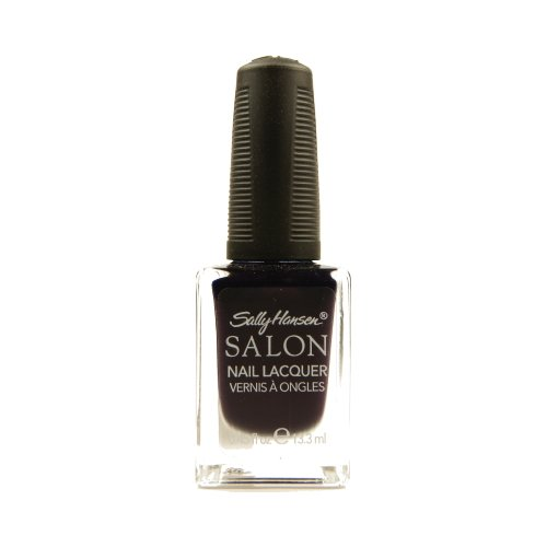 SALLY HANSEN Salon Nail Lacquer 4134 - The Deepest of Violets -