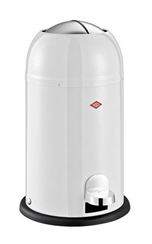Wesco Abfalleimer Kickmaster Junior (Weiß, Weiß)