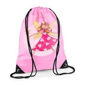 Girls Swim Bag, Pink Gym Bag, Girls PE bag, Fairy girl Bag