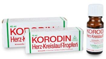 Korodin Herzkreislauftropfen aus Weißdornfrucht-Fluidextrakt und D-Campher, bei Schwindel infolge niedrigen Blutdrucks, Spar-Set 3x100ml