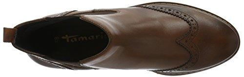 Tamaris 25442, Bottes Chelsea Femme Marron (Cognac 305)