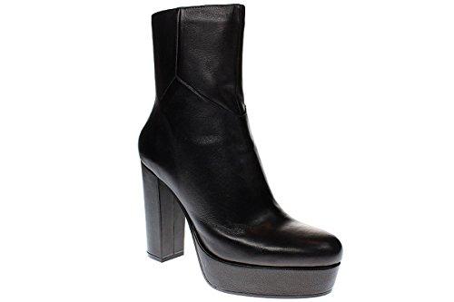 Nappa Premi Siefelette Preto Sapatos Botas I5301g Bruno Femininos XwBOXq