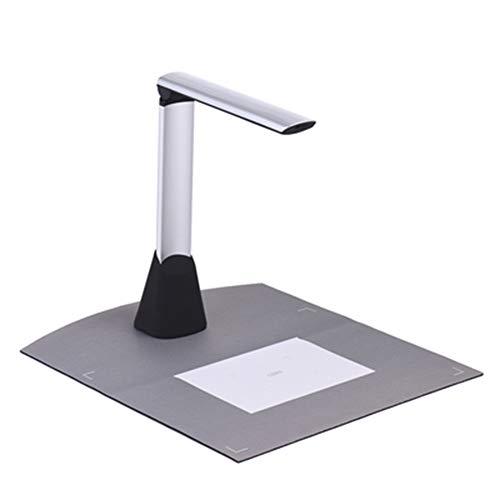10-Megapixel-Dokumentenscanner Scanner mit mehrsprachiger Texterkennung, unterstützt das Aufnehmen von Fotos und das Erstellen von PDF-Dateien mit LED-Licht für die Office-Bibliothek im Klassenzimmer (Computer Im Klassenzimmer)