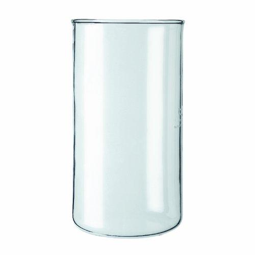 Bodum - 01-11080-10 - Verre de Rechange sans Bec Verseur pour Cafetière à Piston - 0,35 L
