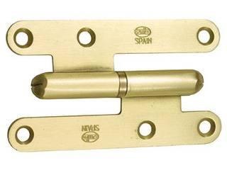 Preisvergleich Produktbild AMIG–Saunatür C/rund Messingüberzug Izda Amig 9.5