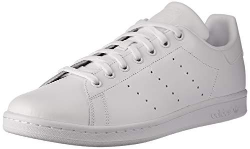 Adidas Stan Smith Scarpe Low-Top, Unisex adulto, Bianco, 39 1/3
