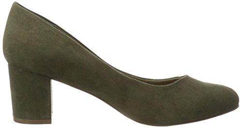 BIANCO - Pumps Mit Blockabsatz, Scarpe col tacco Donna Grün (Army Green)