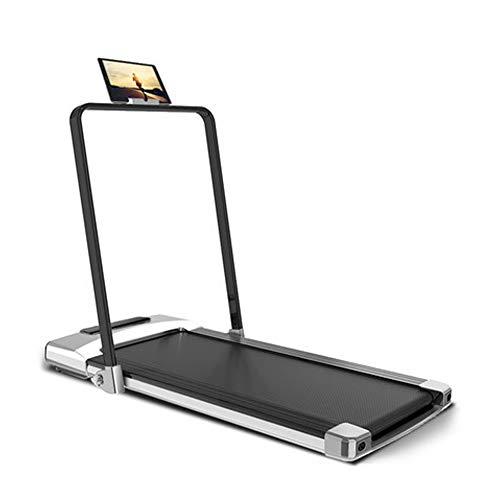 Laufband Elektrisch Klappbar für Zuhause,mit Smartphone App Steuerung 6 KM/H,Kompakt Klappbar Verstaubar Belastbarkeit bis 120 kg,Fitnessgeräte Optimal für Anfänger und Fortgeschrittene