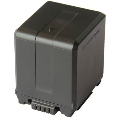 Panasonic VW-VBG260, VW-VBG260E-K, VW-VBG260E9K, VW-VBG260PPK, VW-VBG130, VW-VBG130-K, VW-VBG130E-K videocámara reemplazo de la batería (restante función de visualización de duración de la batería, 2640mAh) ajuste Panasonic HDC-SD5, HDC-HS9, SDR-H40, SDR-H80, HDC-SD600, HDC-SD9, HDC-SD700, SDR-H60, HDC-SD20 videocámaras