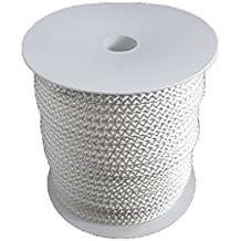 6mm – 50m Polyesterseil - weiß auf Rolle von Hummelt®