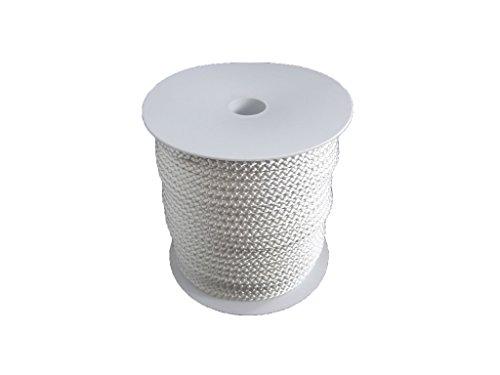6mm – 50m Polyesterseil - weiß auf Rolle von Hummelt