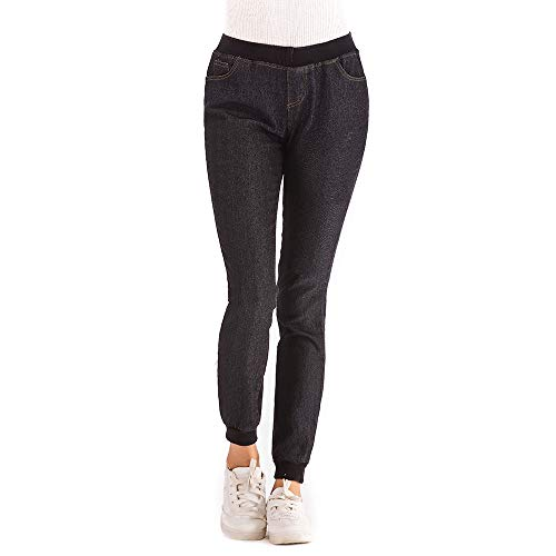 Citizens Of Humanity Skinny (NPRADLA 2019 Damen Basic Hose Herbst Elastic Plus Loose Denim Skinny Pencil Hose Pockets Woman Casual Cropped Jeans)