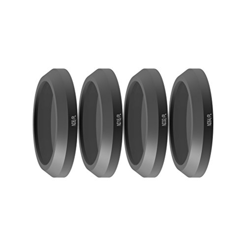 Freewell Bright day-camera lenti filtri set 4pezzi ND8/PL, ND16, ND32/PL/PL, ND64/PL, per uso con Parrot Anafi drone