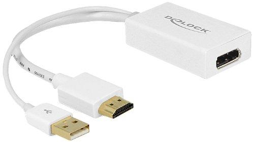 Delock 62496 Adapter HDMI-A Stecker Displayport Buchse