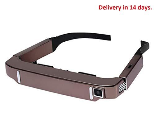 VISION-800 WiFi-Brille für Smart-Android WiFi, 3D-Brille, 203,2 cm, Virtual Wide Screen, Video-Brille, tragbar, privates Theater, 5 MP-Kamera BT4.0