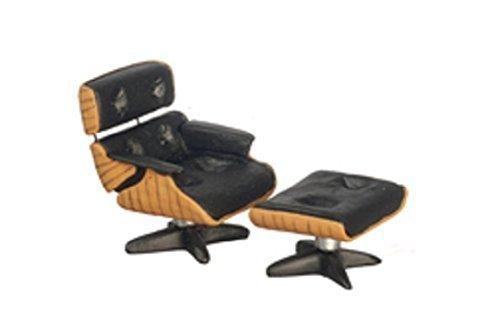 Melody Jane Puppenhaus Designer Lounge-Sessel & Osmanisch 1:24 Halb Zoll Maßstab