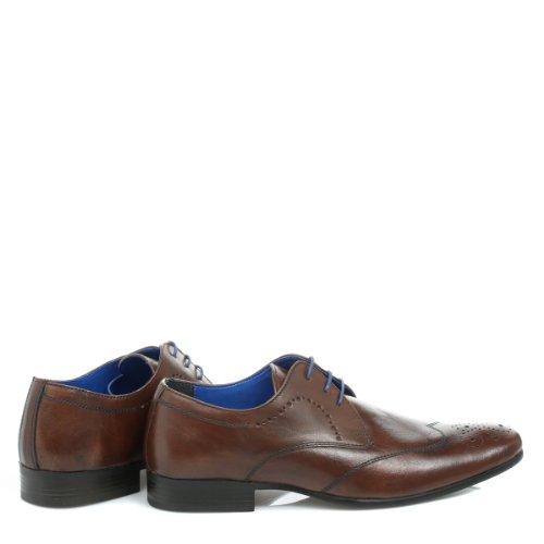 Red Tape , Chaussures de ville à lacets pour homme Marron marron Brun