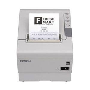 Pos-drucker Epson (Epson TM-T88V - RS232 (seriell) & USB - 80mm, weiß inkl. NT ( Thermodrucker - Bondrucker ))