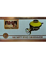 KV AHA -Gas Cylinder Regulator/ISI Certified/Leak Deatctor Fire Safety Device Automatic Cut Off