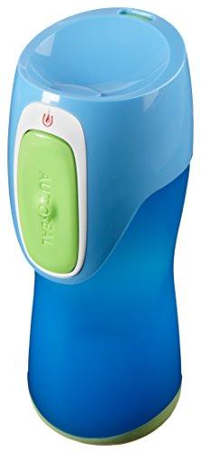 Contigo Kinder Trinkflasche Kids Runabout, Blue Green, 260 ml